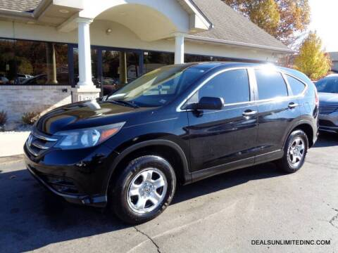 2013 Honda CR-V for sale at DEALS UNLIMITED INC in Portage MI
