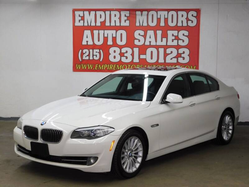 2011 BMW 5 Series for sale at EMPIRE MOTORS AUTO SALES in Philadelphia PA