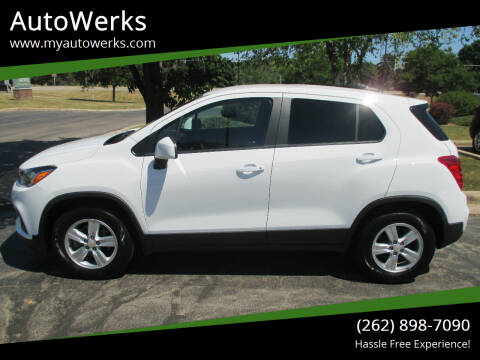 2019 Chevrolet Trax for sale at AutoWerks in Sturtevant WI