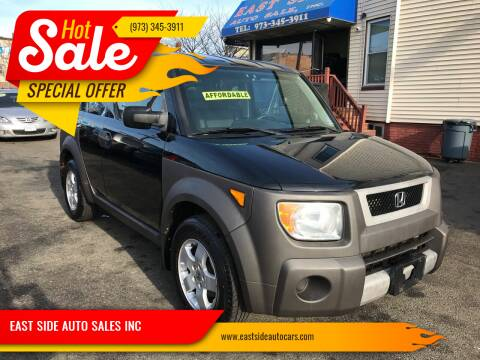 2003 Honda Element for sale at EAST SIDE AUTO SALES INC in Paterson NJ