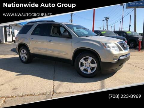 2009 GMC Acadia for sale at Nationwide Auto Group in Melrose Park IL