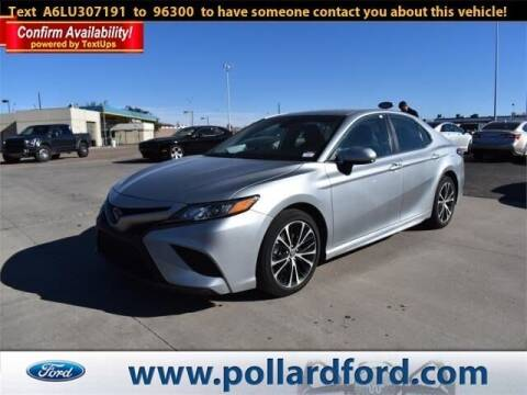 2020 Toyota Camry for sale at South Plains Autoplex by RANDY BUCHANAN in Lubbock TX