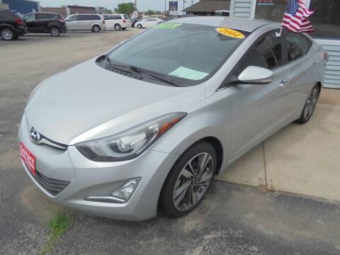 2014 Hyundai Elantra for sale at Century Auto Sales LLC in Appleton WI