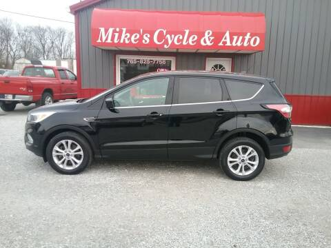 2017 Ford Escape for sale at MIKE'S CYCLE & AUTO in Connersville IN