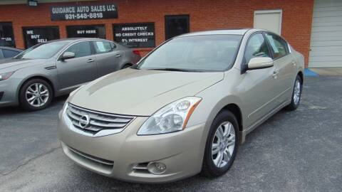 2010 Nissan Altima for sale at Guidance Auto Sales LLC in Columbia TN
