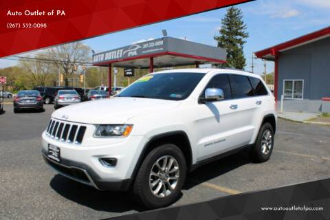 2014 Jeep Grand Cherokee for sale at Deals N Wheels 306 in Burlington NJ