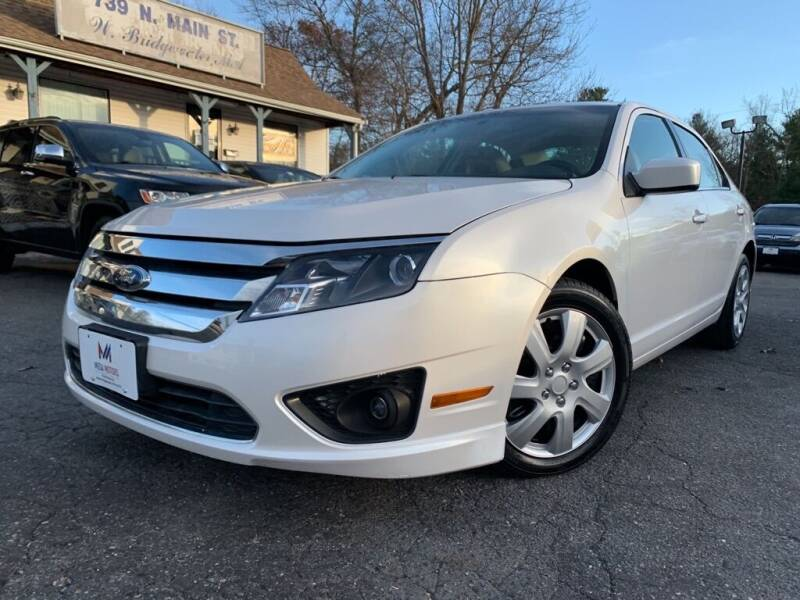 2010 Ford Fusion for sale at Mega Motors in West Bridgewater MA