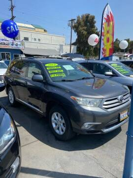 2012 Toyota Highlander for sale at LA PLAYITA AUTO SALES INC - 3271 E. Firestone Blvd Lot in South Gate CA