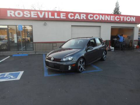 2012 Volkswagen GTI for sale at ROSEVILLE CAR CONNECTION in Roseville CA