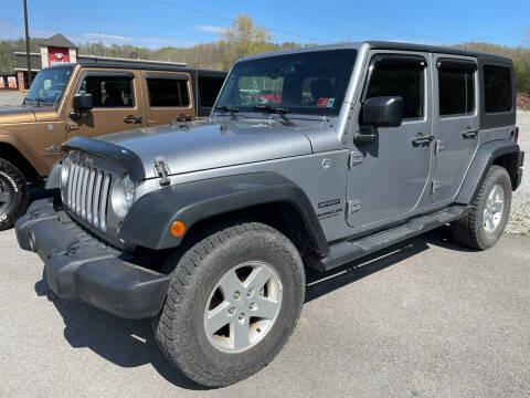 2016 Jeep Wrangler Unlimited for sale at Turner's Inc in Weston WV