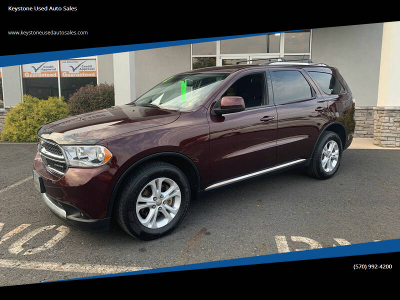 2012 Dodge Durango for sale at Keystone Used Auto Sales in Brodheadsville PA