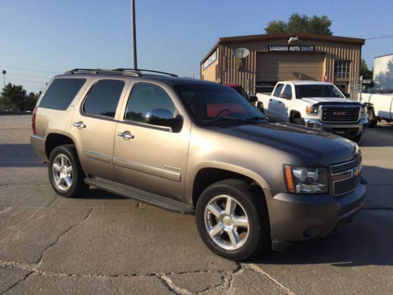 2011 Chevrolet Tahoe for sale at Sanders Auto Sales in Lincoln NE