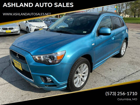 2011 Mitsubishi Outlander Sport for sale at ASHLAND AUTO SALES in Columbia MO