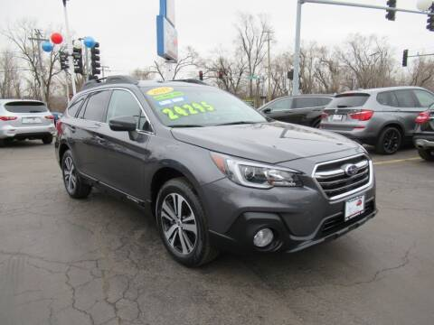 2018 Subaru Outback for sale at Auto Land Inc in Crest Hill IL