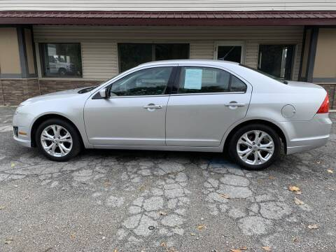 2012 Ford Fusion for sale at Settle Auto Sales TAYLOR ST. in Fort Wayne IN