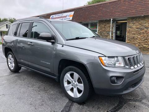 2012 Jeep Compass for sale at Approved Motors in Dillonvale OH