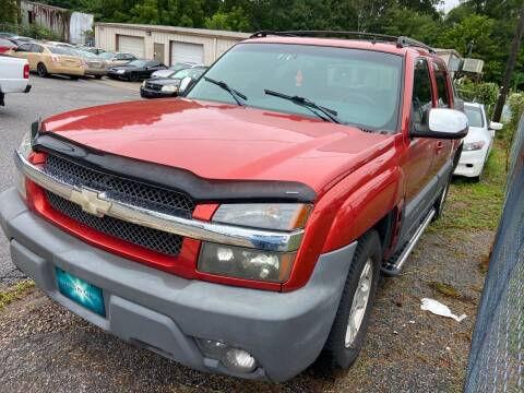 2002 Chevrolet Avalanche for sale at Noel Motors LLC in Griffin GA