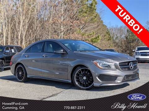 2016 Mercedes-Benz CLA for sale at BILLY HOWELL FORD LINCOLN in Cumming GA