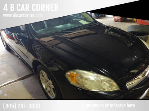 2012 Chevrolet Impala for sale at 4 B CAR CORNER in Anadarko OK