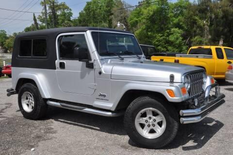 2005 Jeep Wrangler for sale at Elite Motorcar, LLC in Deland FL
