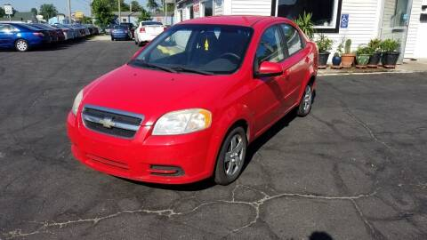 2009 Chevrolet Aveo for sale at Nonstop Motors in Indianapolis IN