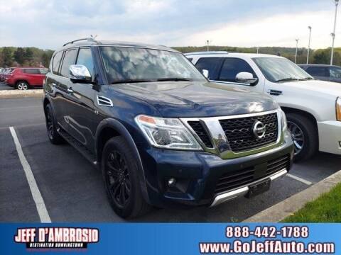 2017 Nissan Armada for sale at Jeff D'Ambrosio Auto Group in Downingtown PA