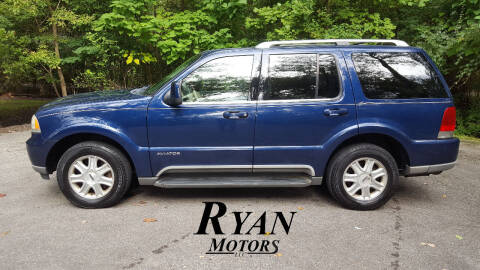 2004 Lincoln Aviator for sale at Ryan Motors LLC in Warsaw IN