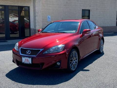 2011 Lexus IS 250 for sale at Va Auto Sales in Harrisonburg VA