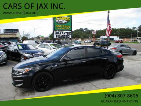 2016 Kia Optima for sale at CARS OF JAX INC. in Jacksonville FL
