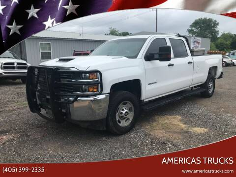 2017 Chevrolet Silverado 2500HD for sale at Americas Trucks in Jones OK