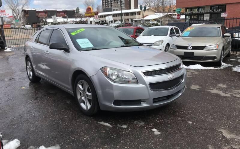 2012 Chevrolet Malibu for sale at Sanaa Auto Sales LLC in Denver CO