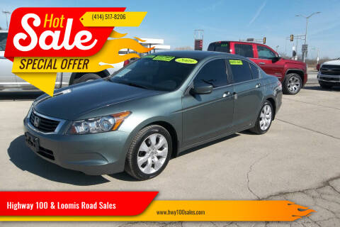2009 Honda Accord for sale at Highway 100 & Loomis Road Sales in Franklin WI