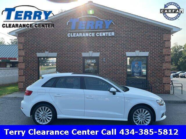 2018 Audi A3 Sportback e-tron for sale at Terry Clearance Center in Lynchburg VA
