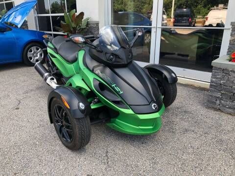 2012 Can-Am Spyder for sale at Atlantic AutoCenter in Cranston RI