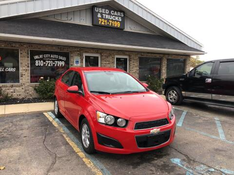2012 Chevrolet Sonic for sale at Imlay City Auto Sales LLC. in Imlay City MI