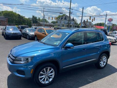 2017 Volkswagen Tiguan for sale at Masic Motors, Inc. in Harrisburg PA