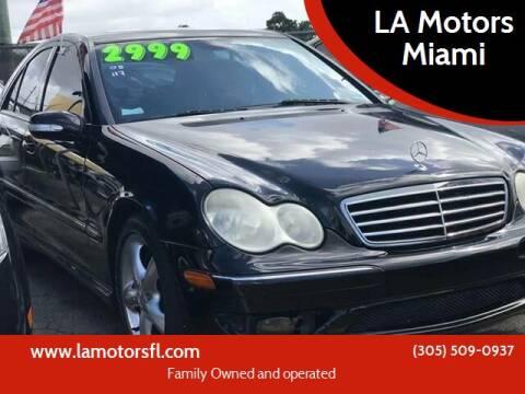 2005 Mercedes-Benz C-Class for sale at LA Motors Miami in Miami FL