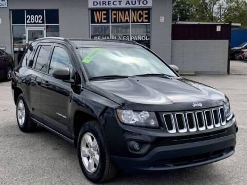 2015 Jeep Compass for sale at Stanley Automotive Finance Enterprise - STANLEY DIRECT AUTO in Mesquite TX
