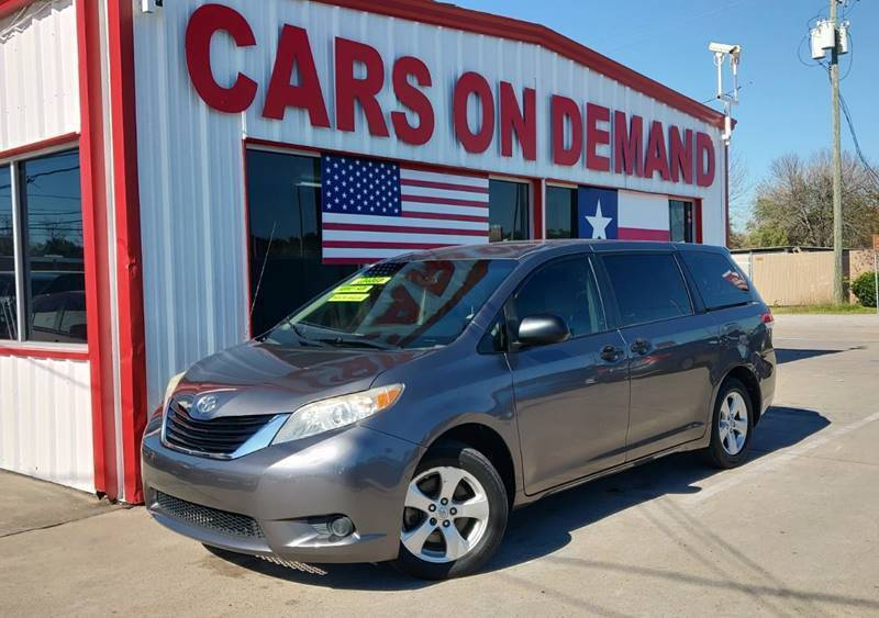 2011 Toyota Sienna for sale at Cars On Demand 3 in Pasadena TX