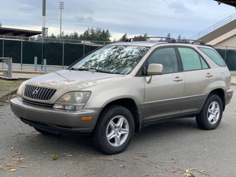 1999 Lexus RX 300 for sale at Q Motors in Tacoma WA