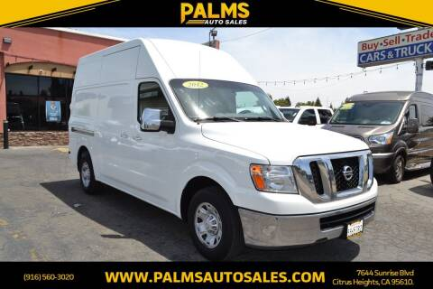 2012 Nissan NV Cargo for sale at Palms Auto Sales in Citrus Heights CA