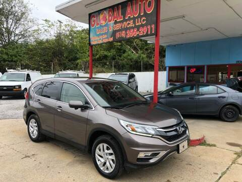 2016 Honda CR-V for sale at Global Auto Sales and Service in Nashville TN