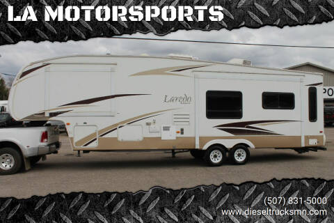 2008 Keystone LAREDO for sale at LA MOTORSPORTS in Windom MN