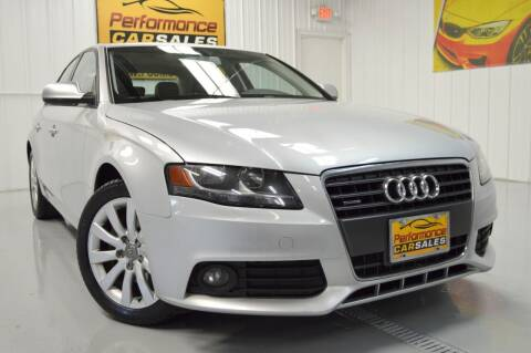 2012 Audi A4 for sale at Performance car sales in Joliet IL