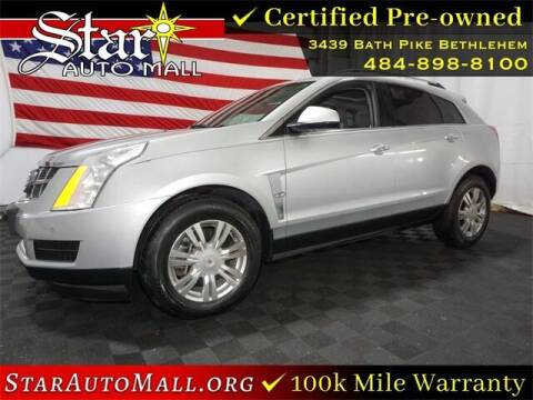 2012 Cadillac SRX for sale at STAR AUTO MALL 512 in Bethlehem PA