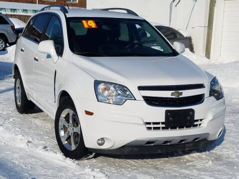 2014 Chevrolet Captiva Sport for sale at RBM AUTO BROKERS in Alsip IL