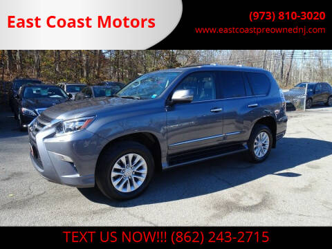 2015 Lexus GX 460 for sale at East Coast Motors in Lake Hopatcong NJ