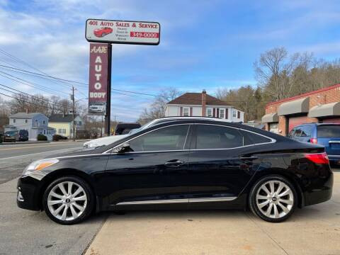 2012 Hyundai Azera for sale at 401 Auto Sales & Service in Smithfield RI