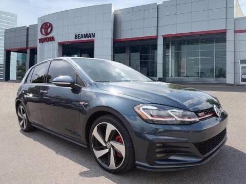 2020 Volkswagen Golf GTI for sale at BEAMAN TOYOTA in Nashville TN