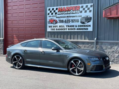 2016 Audi RS 7 for sale at Harper Motorsports-Vehicles in Post Falls ID